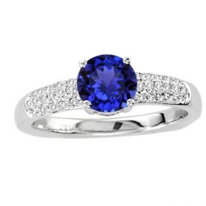 White Gold Tanzanite Ring
