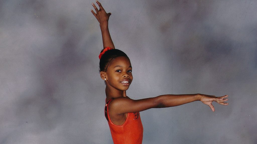Gabby Douglas as a Child