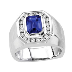 emerald-cut-tanzanite-gents-ring