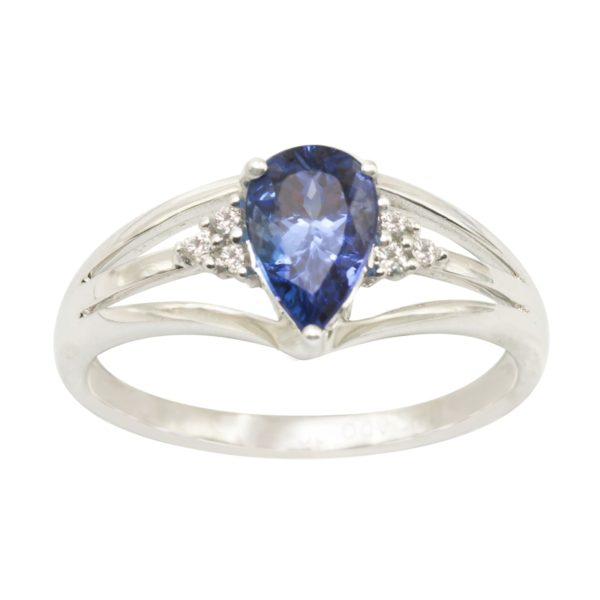 pear-shape-tanzanite-ring