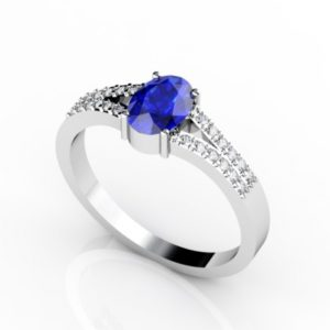 oval-shape-tanzanite-ring