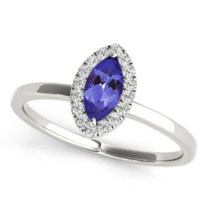 marquise-shape-tanzanite-ring