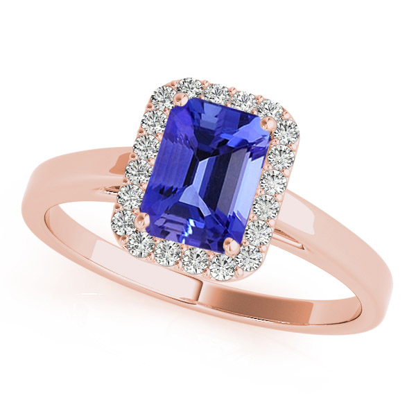 ring tdw and jewelry emerald cut gold diamond tanzanite august watches product white h g anika