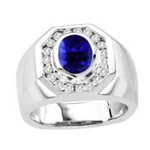 oval-shape-tanzanite-gents-ring