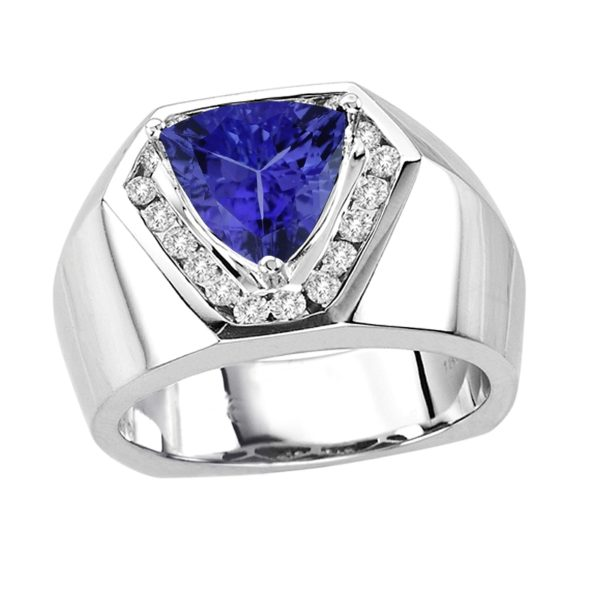 trillion-shape-tanzanite-gents-ring